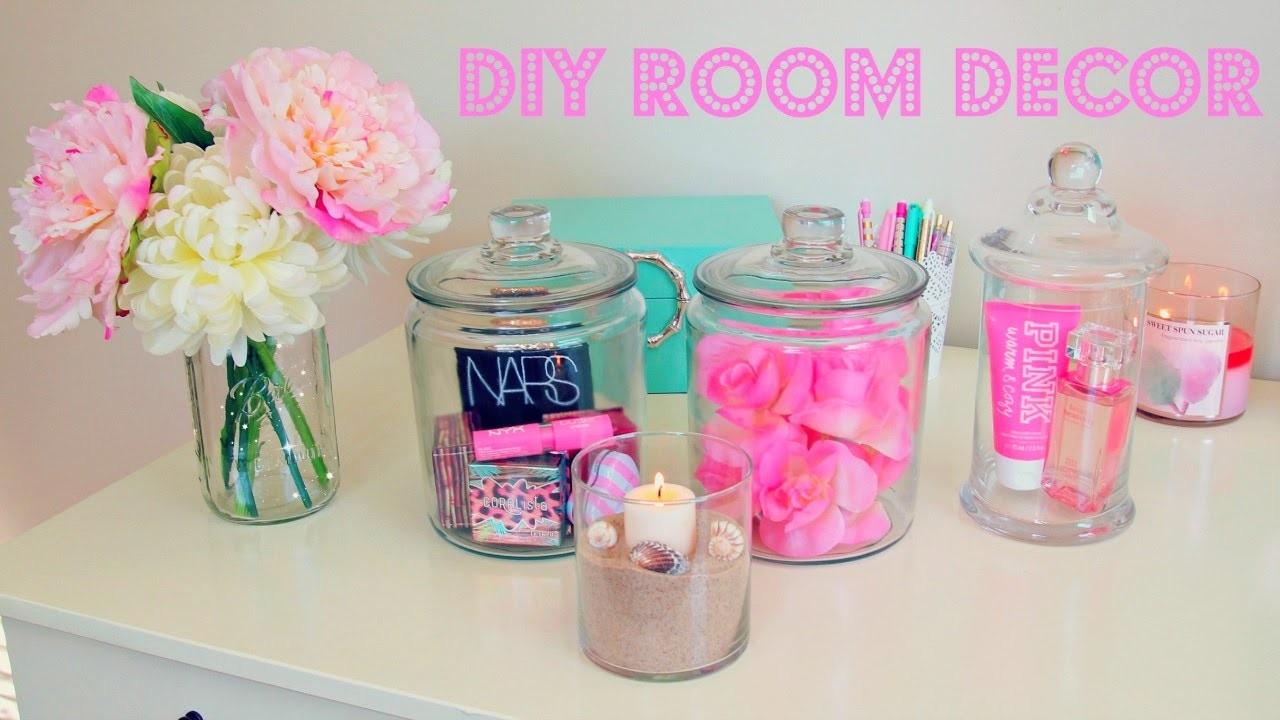 DIY Room Decor ~ Inexpensive Room Decor Ideas Using Jars