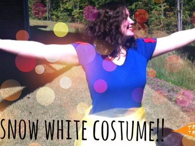 DIY Snow White Halloween Costume!