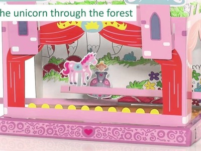 Early Learning Centre   Make Your Own Puppet Theatre Craft Kit