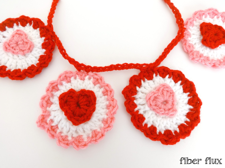 Episode 173: How To Crochet the Ruffle Heart Garland