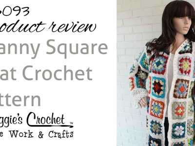 Granny Square Coat Product Review PB093