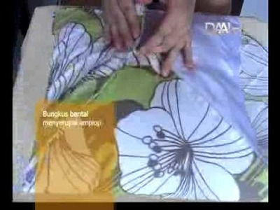 House & Living : DIY - Membuat Sarung Bantal