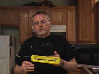 How to Caulk without the MESS!