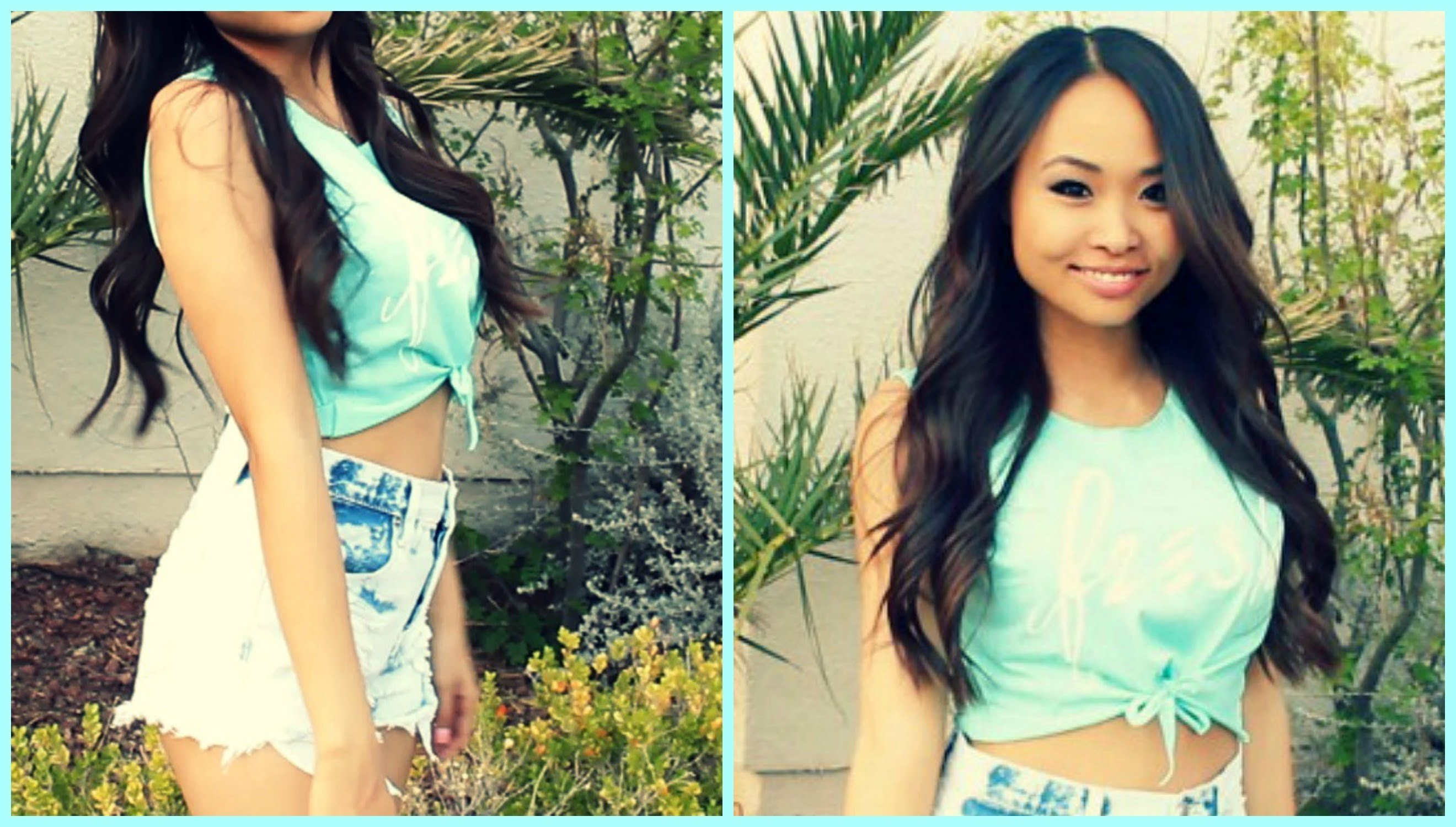 How To: DIY CROP TOP 2 Ways