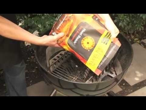 How to light a Weber Kettle BBQ with Heat Beads® BBQ Briquettes