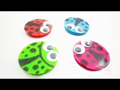 How to make a lady bug magnet - EP