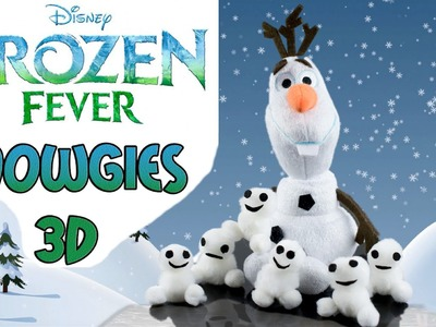 How to make Frozen Fever  Snowgies Baby Snowman: How to Tutorial.Ridiculously Simple DIY