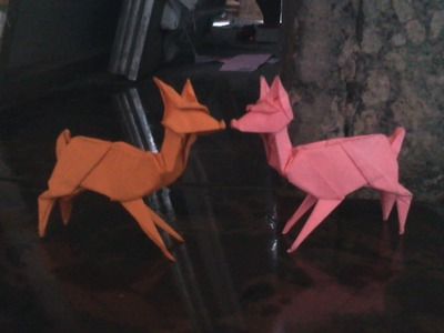 How to make Origami deer (Stephen weiss)