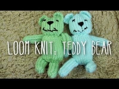 Loom Knit Teddy Bear!