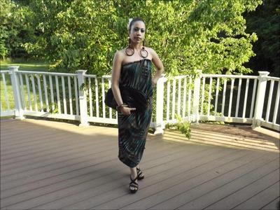 OOTN: DIY Maxi Dress(Thanks Mimi!!)