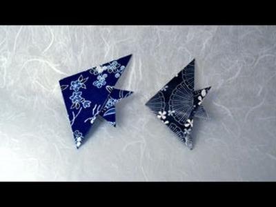 Origami Sun Fish Instructions: www.Origami-Fun.com