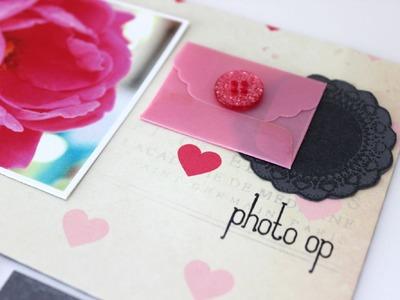 Scrapbooking Process :: Photo Op