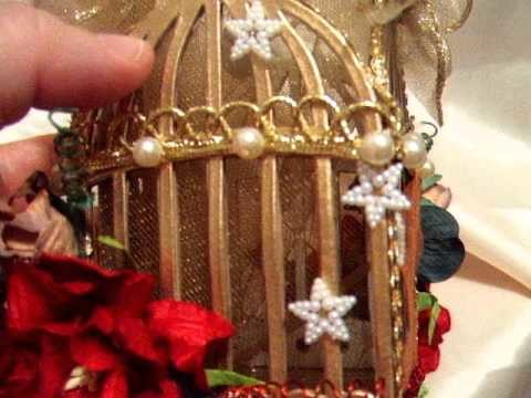 Tim Holtz Victorian Christmas Ornament