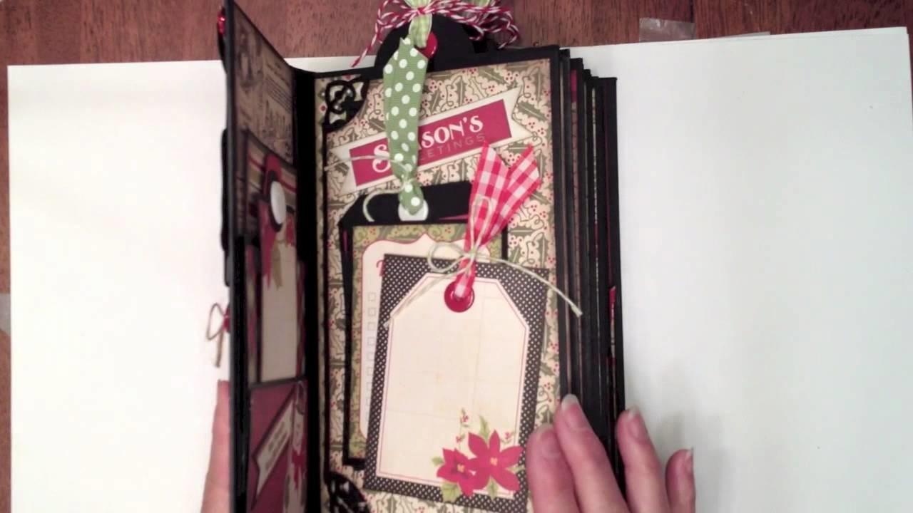 Vertical Paper Bag Mini Album Tutorial