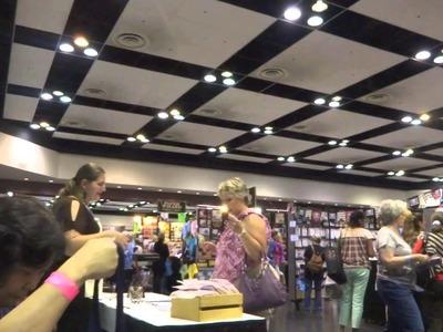 Vlog #4 Part 1 of 2 Santa Clara Scrapbook Convention Expo 2013