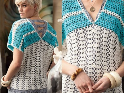 #16 Short Sleeve Top, Vogue Knitting Crochet 2012