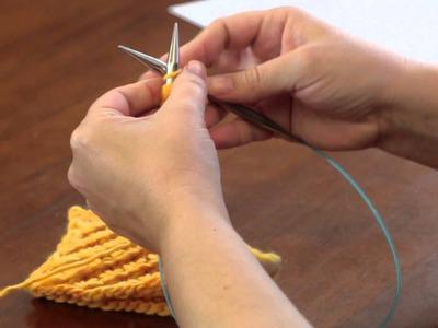 A Tutorial on Daisy Stitch Knitting : Advanced Knitting Stitches