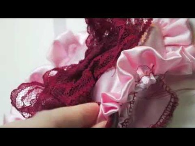 A Vintage Style Sleeping Mask DIY tutorial for Valentines Day