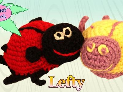 Amigurumi LadyBug Princess Left Hand Crochet Geek