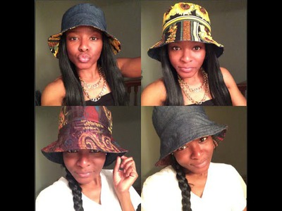 An EASY DIY: Reversible Bucket Hat Tutorial !