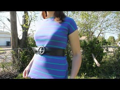 Basic T-Shirt DIY Tutorial  - Whitney Sews