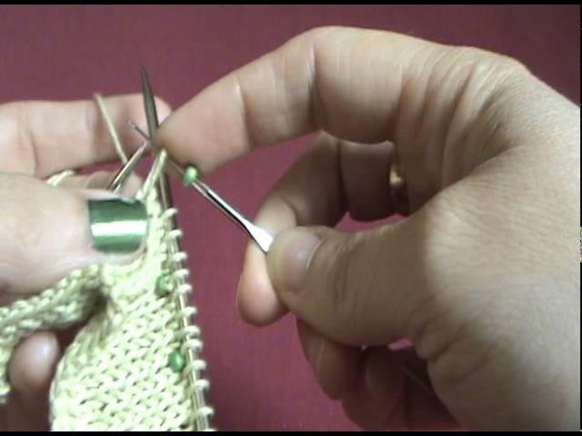 Beaded Knitting Tutorial