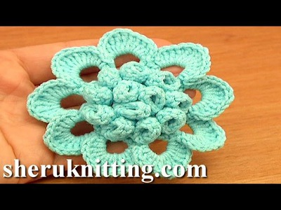 Beautiful Crochet Flower Patterns Tutorial 76 Free Crochet Flower Tutorials