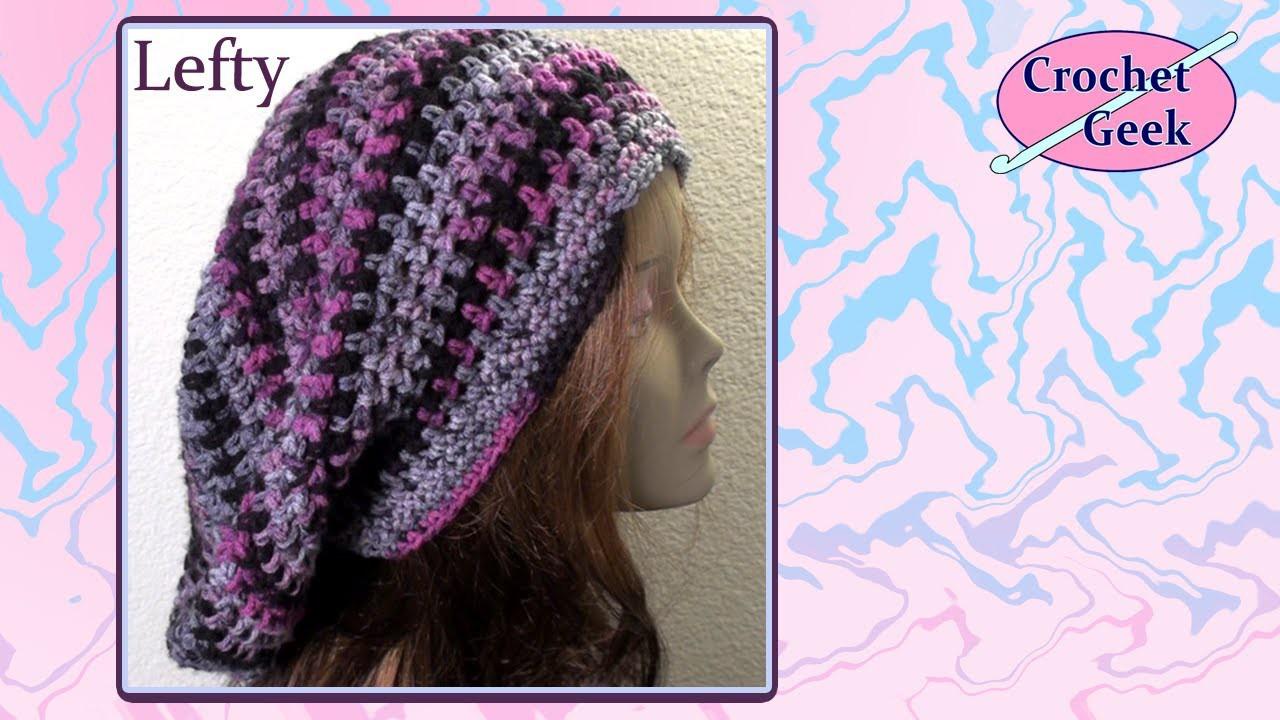 Bob Marley Crochet Geek Slouch Cap - Left Hand August 31 Video
