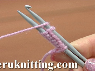 Cast On With a Knitting Needle and a Crochet Hook Tutorial 1 Method 13 of 18 Casting On In Knitting