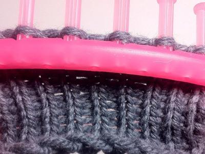 Circular Loom Knitting: How to Knit (DIY Tutorial)