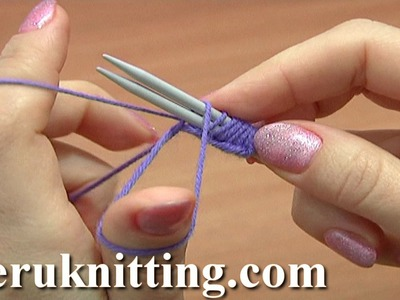 Classic Way To Cast On Using Two Knitting Needles Tutorial 1 Method 1 of 18 Knitting Basics