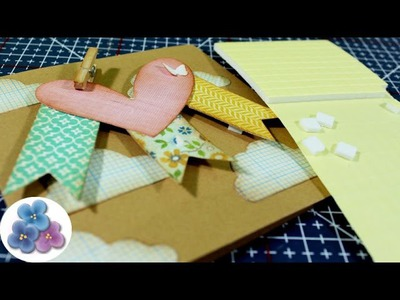 Como hacer Espumas Dimensionales *DIY how to foam pads* Tutorial Scrapbooking Pintura Facil