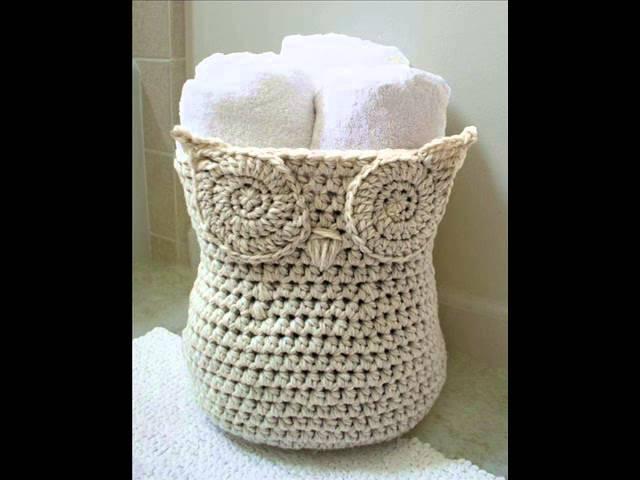 Cool Owl Basket Crochet Pattern Presentation
