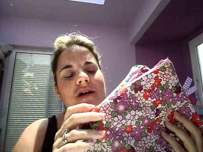 Craft: DIY sewing tutorial easy zipper pouch.wmv
