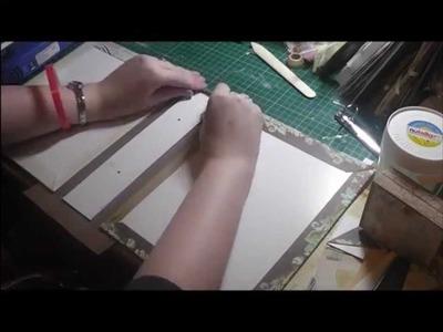 Craft Organiser - File Folder Tutorial
