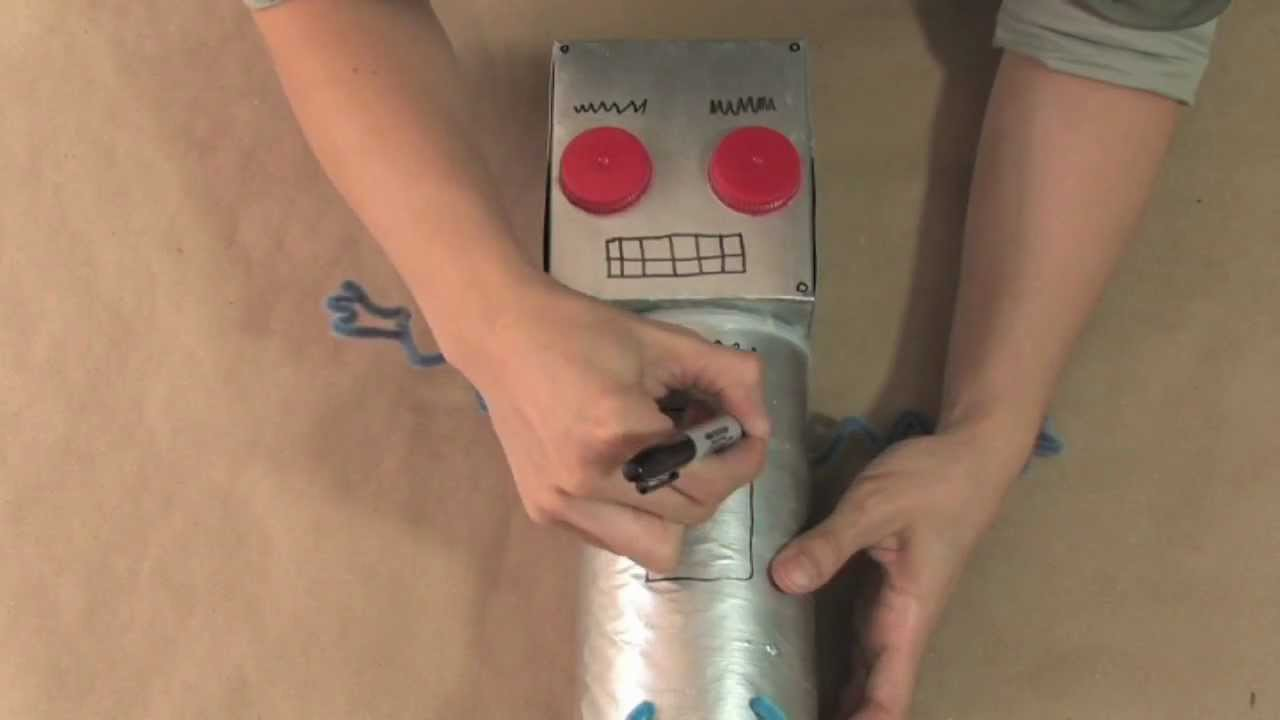 Craft Time with Julie Mack - How to build a robot bank
