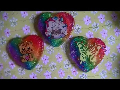 Craft Tutorial: Rainbow Background for Resin