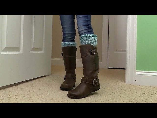 Crafts for Kids: How to Knit Boot Cuffs