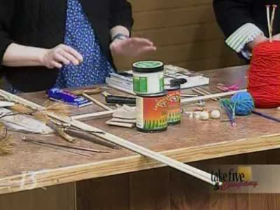 CraftSanity on TV: Making Handmade Knitting Needles