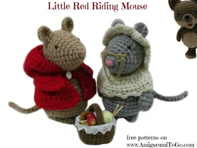 Crochet Along Granny Mouse Outfit