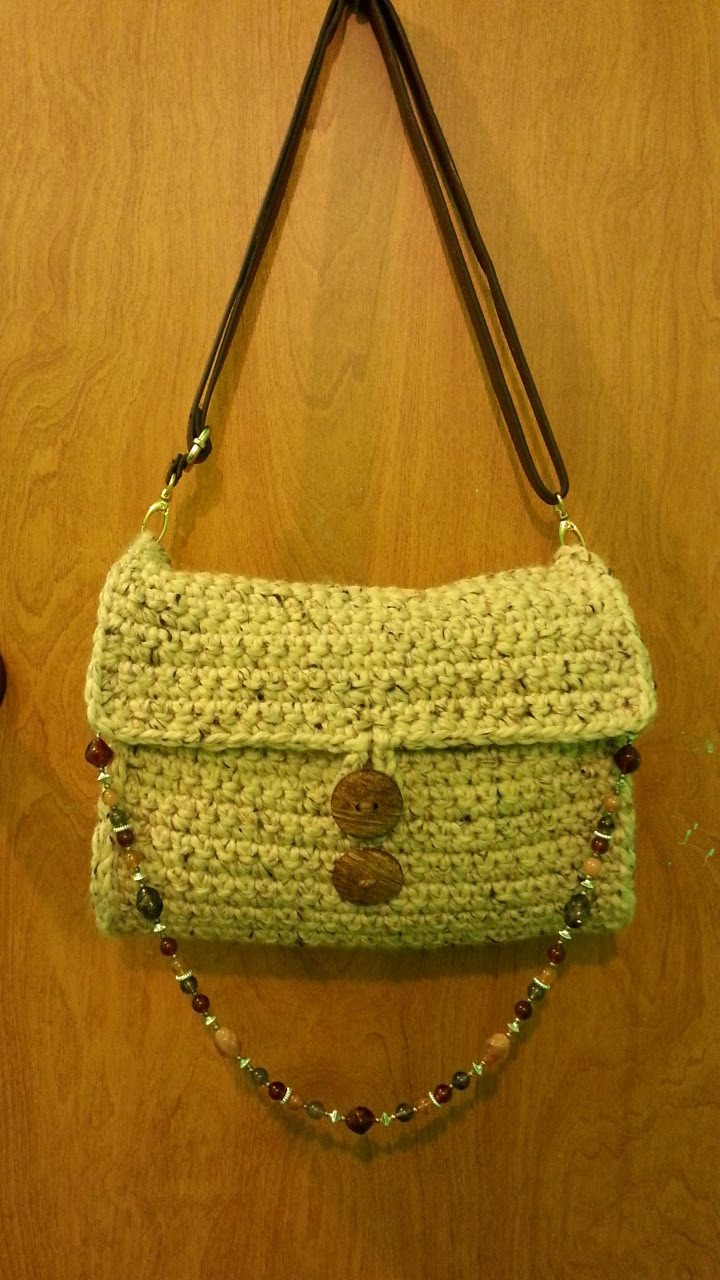 #Crochet Chunky Handbag Purse #TUTORIAL DIY crochet How to crochet a purse