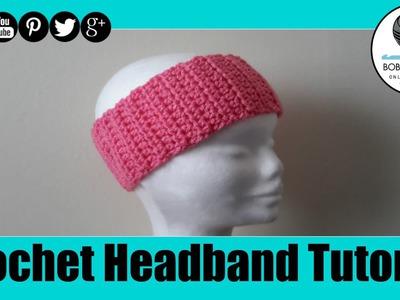 Crochet Headband Easy Tutorial
