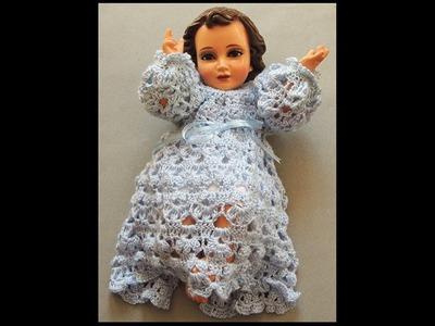 Crochet : Niño Jesus. Canesú. Parte 1 de 2