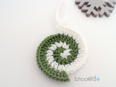 Crochet Ornament: The Perfect Spiral Ornament