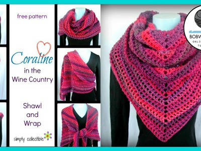 Crochet Shawl Tutorial