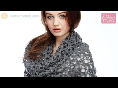 Crochet Shine Like Diamonds Shawl Tutorial