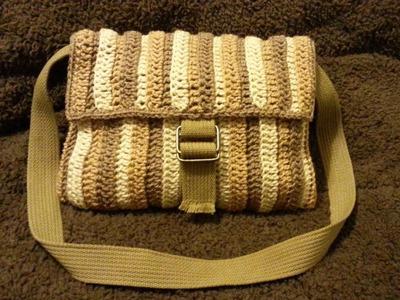 #Crochet Shoulder Bag #TUTORIAL #Designer DIY How to Crochet