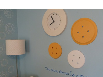 DIY ART for your craft room or child's room!