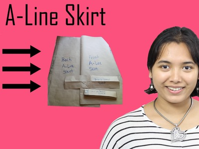 DIY- Basic Pattern Tutorial: The A-line Skirt