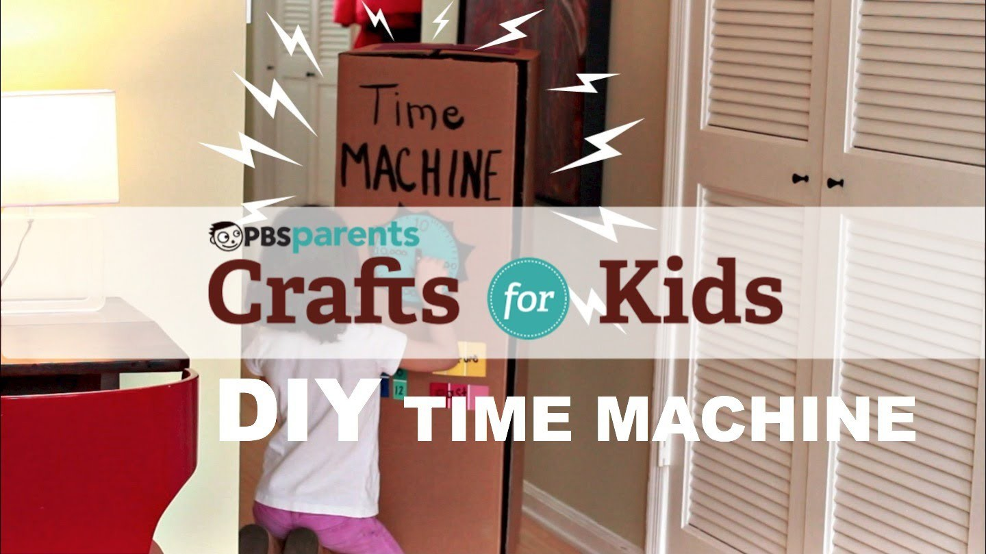 DIY Cardboard Time Machine | Crafts for Kids | PBS Parents